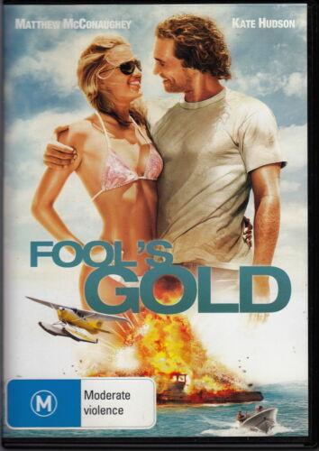 1 of 1 - Fool's Gold / Matthew McConaughey, Kate Hudson (2008) - DVD REGION 4