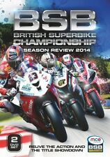 BRITISH SUPERBIKE CHAMPIONSHIP REVIEW 2014 DVD SIGNED BY SHAKEY BYRNE