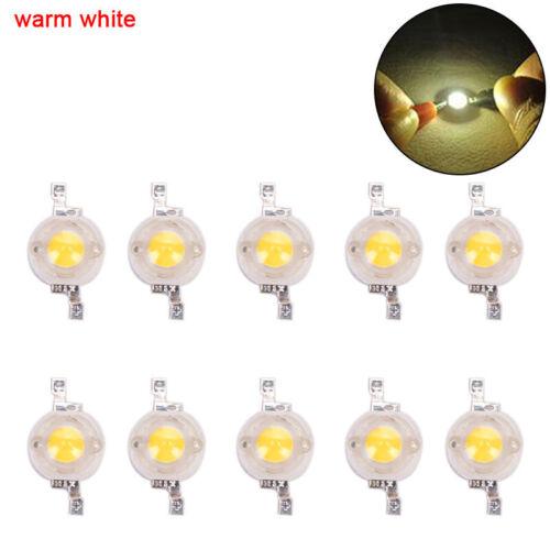 10 Stück 1W High-Power LED-Lampe Hervorhebung Lichter Perle High-Power-Lamp CJ