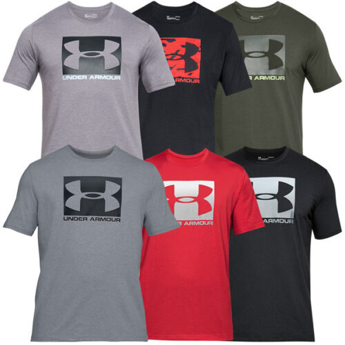 Under Armour Boxed Sportstyle Short Sleeve Shirt Freizeit Sport T-Shirt 1305660