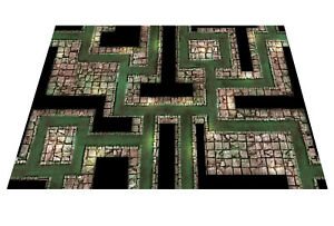Sewers-Dungeon-Mat-Gaming-Mat-dnd-D-amp-D-roleplay-RPG-battle-pathfinder-Dragons
