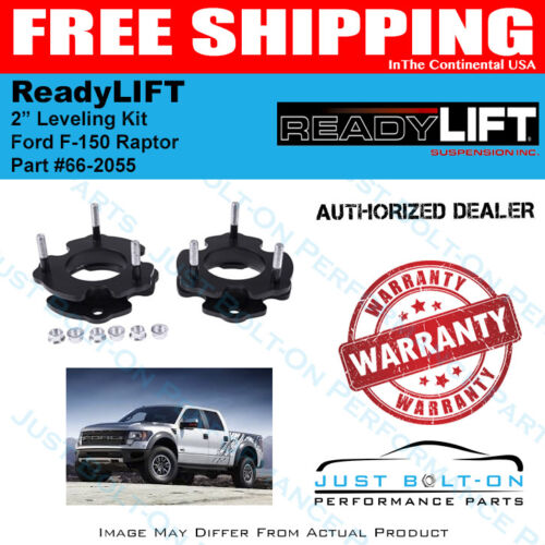 """ReadyLIFT 2.0/"""" Leveling Kit 2010-14 Ford Raptor SVT 4WD Made To Fit 66-2055"""