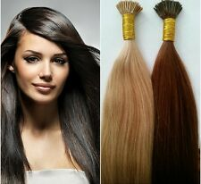 """Superior Euro Remy Hair Extensions 22"""" Pre-Bonded I-Tip 100 Strands Any Color"""