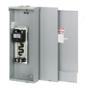200 Amp 4 8 Space Main Breaker Outdoor Electrical Panel Box Mobile Home Trailer 786676000512 Ebay