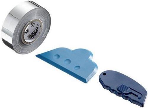 20mm Chrome Detailing Tape Foil Car Pinstripe Coach Line fits FIAT