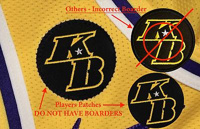 Kobe Bryant Patch KB LA Lakers 2020 Basketball Jersey Patch un signed lebron | eBay