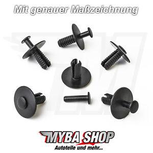 10-x-parachoques-clips-de-fijacion-para-BMW-E30-E36-E46-E39-E38-Z1-51118174185