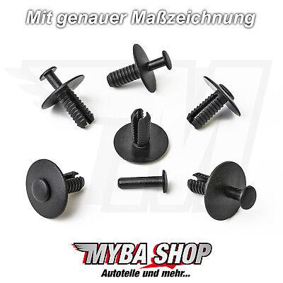 10x BMW stossstangen clips de fixation 51118174185