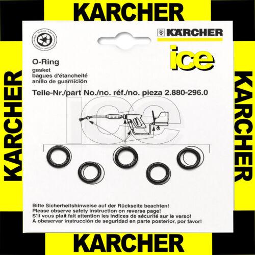 Pack of 5 Genuine Karcher Pressure Washer O Ring Seal