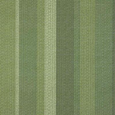 Iconic 1970s GREEN VINYL VINTAGE Striped Wallpaper 1970s Mid Century Modern