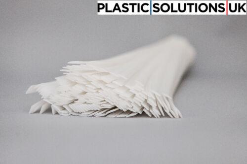 white semi-translucent PELD flat 10 strips LDPE Plastic welding rods 10mm
