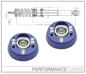 Coupelles-Avants-Reglables-Haute-Performance-UNIBALL-VW-GOLF-2-3-VENTO