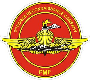 USMC-Marine-Corps-3rd-Force-Reconnaissance-Recon-Company-Decal-Sticker