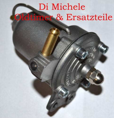 Benzinfilter mit Druckregler universell Filterking für Ø 42mm Benzinfilter