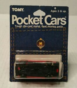 Tomy-Tomica-Pocket-Cars-Nissan-Bluebird-Wagon-No-34-Red-UCC-Japan-1986-Error-HTF