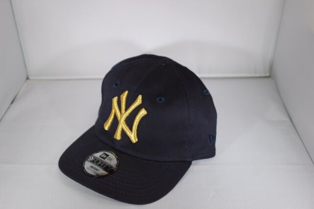 New Era Golden 940 Infant New York Yankees Stretch Fit Baseball Cap -Navy  (BNWT 09104d15770