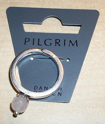NEW PILGRIM SKANDERBORG, DENMARK Adjustable Ring with Simulated Gem Silver Base