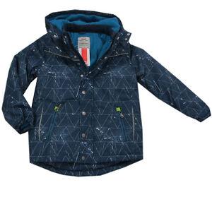 Rabatt einzigartiger Stil Beste Details zu Kanz Jacke Winterjacke mit Kapuze Anorak Skijacke blau Jungen  Gr.80,86,98,122