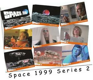 SPACE 1999 SERIES 2 BASE SET ALL 36 CARDS