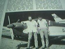 article 1974 alpine motor glider peter ross david kent