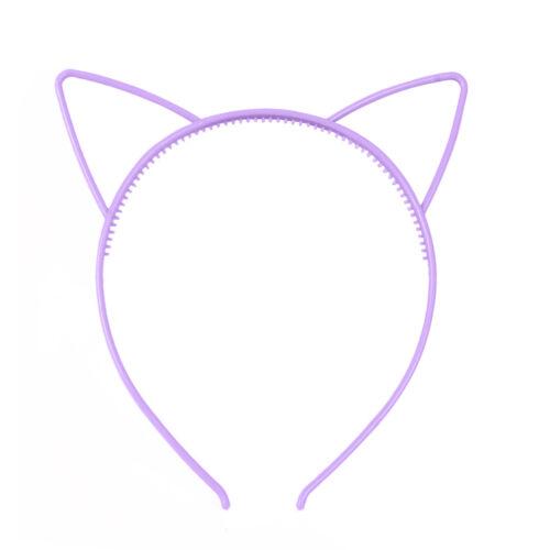 Eg /_ 3 Teile Cat Ears Damen Mädchen Reifen Haarband Stirnband Party