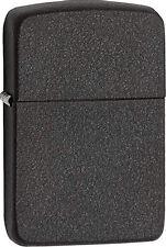 Zippo 1941 Replica Black Crackle Windproof Lighter 28582 New