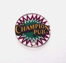 Bally CHAMPION PUB Original NOS Pinball Machine Plastic Promo KeyChain Game Logo
