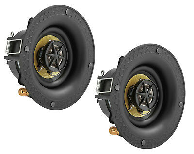 """3 Pack TDX 3/"""" 2-Way In-Ceiling Home Theater Audio Speaker Flush Mount White"""
