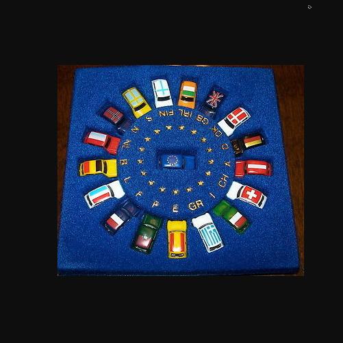 Mini- Euro Jeu Mini Cooper Europe Série Spéciale Imu Modèle Européen