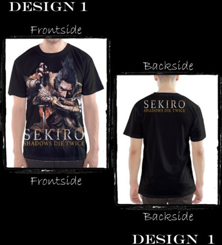 Jersey Custom Sekiro Shadows Die Twice T-Shirts PS4 XBOX game