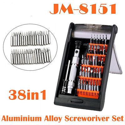 JM-8151 38-in-1 Compact Multi-Bits Screwdriver Repair Set Kit for Cellphone PC