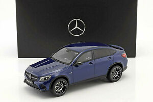 Mercedes-Benz-AMG-C-253-Glc-Coupe-43-AMG-Brilliant-Blue-1-18-New-Boxed