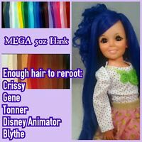 Mega 5oz Nylon Reroot Hair Hank For Tonner Animator Ag Gene Crissy Dolls Tall Mh