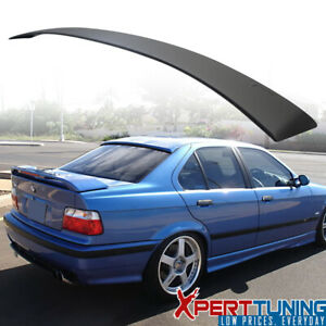 92-98 BMW E36 3 Series Roof Spoiler Painted Matte Black ABS