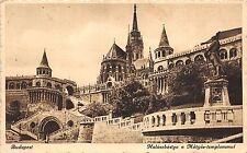 B36207 Budapest The Fishers Bastion and Mathews Church    hungary