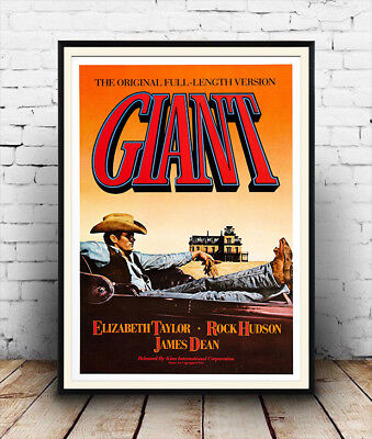 REPRODUCTION MOVIE POSTER A3 or A4 OPTIONS AVAILABLE JAMES DEAN