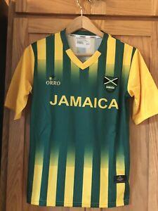 ORRO-JAMAICA-SOCCER-FOOTBALL-CLUB-JERSEY-SHIRT-SIZE-SMALL