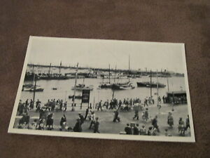 Real-photographic-postcard-Harbour-amp-Sailing-boats-Ramsgate-Thanet-Kent