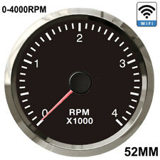 52mm Wifi Tachometer Rpm Gauge Programmable Diesel Amp Gasoline Engine With Steppe