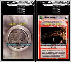 DECIPHER-1997-STAR-WARS-CCG-ASTEROID-SANCTUARY-MINT-in-CELLO-SAMPE-PROMO