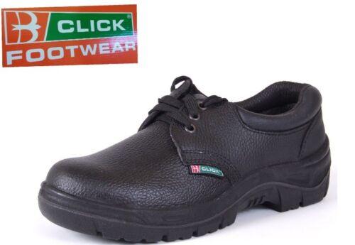 Steel de 8 Static Cdds08 Chaussures sécurité Taille Steel Click noir Anti Footwear en Toecap cuir BUFtqv