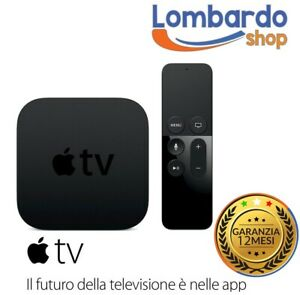 APPLE-TV-4-GENERAZIONE-32GB-A8-HDMI-WLAN-SIRI-REMOTE-CONTROLLER-A1625-MGY52QM-A