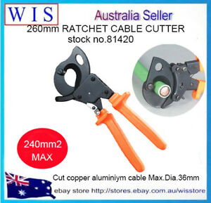 """200mm 8/"""" Cable Cutting Pliers Up to 38mm² Suit for Battery /& Anderson Plug Wire"""