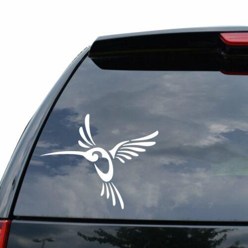TRIBAL ART HUMMINGBIRD Decal Sticker Car Truck Motorcycle Window Ipad Laptop Wal