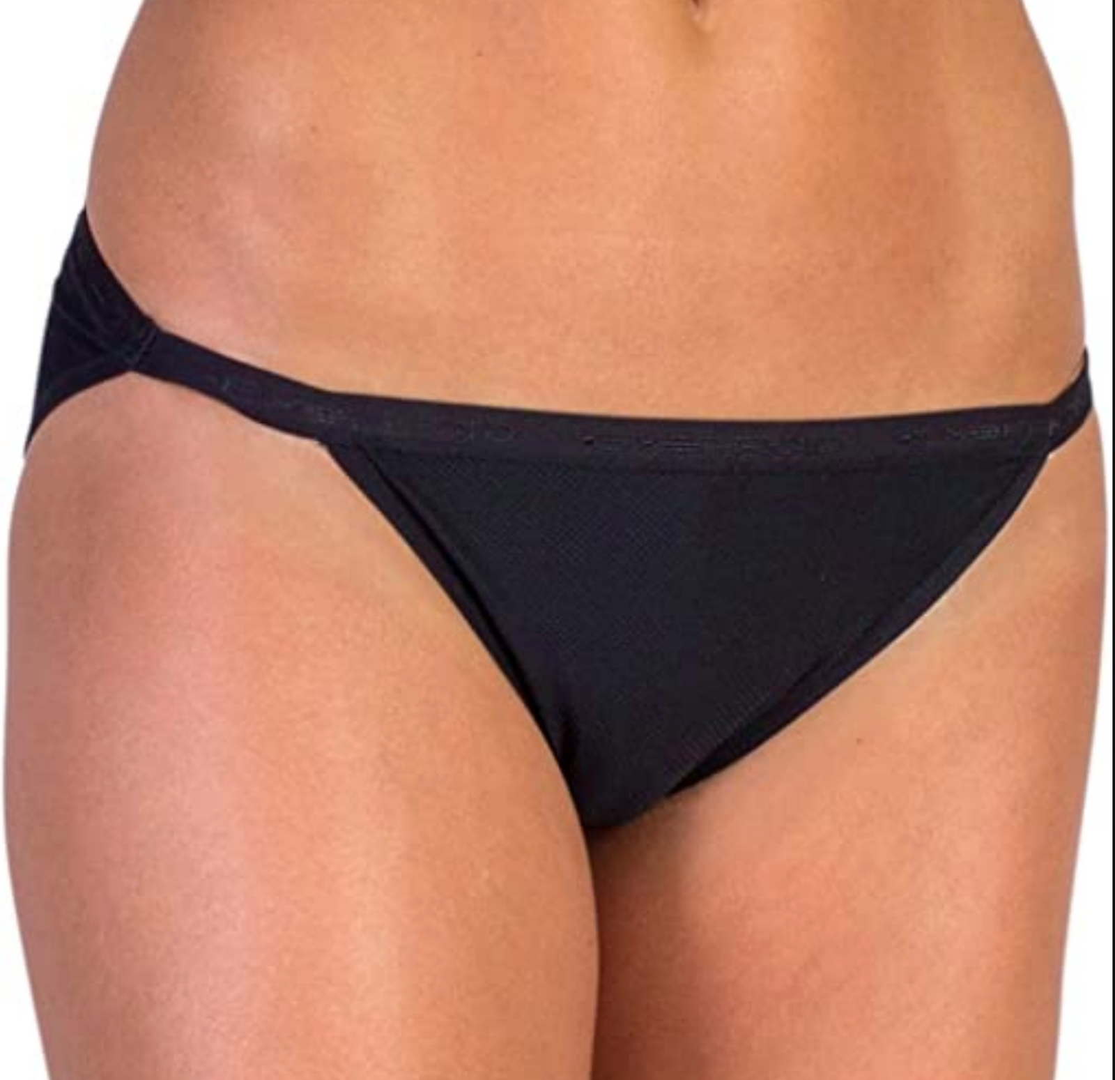 Small Black ExOfficio Womens Give-N-Go String Bikini