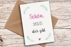 Grusskarte-Postkarte-A6-Karte-Glueckwuensche-Mama-Karte-Danke-Karte-mit-Umschlag