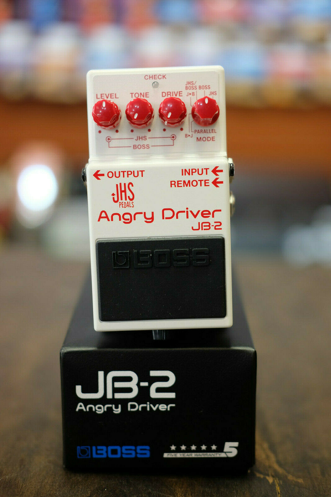 Boss (JHS) JB-2 Angry Driver Overdrive Guitar Effects Pedal- NEW Free Shipping