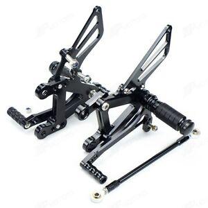 Kawasaki-Ninja-ZX6R-636-03-04-Adjustable-Rearsets-with-brake-switch