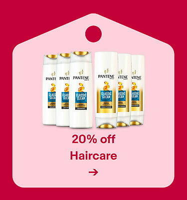 20% off Haircare