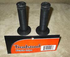 ODI Toadstool MTB//BMX Flangeless grips black USA Made